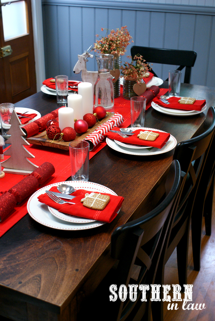 Southern In Law: Our Nordic Inspired Christmas Table + DIY Tutorials