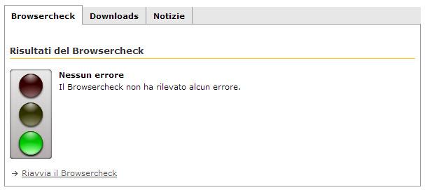 Browserchek test ultimato