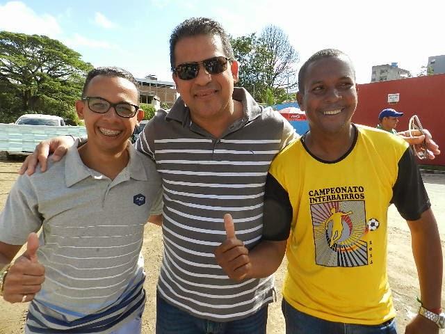 Roberto Alves e Marlon lideranças que fazem a diferança na luta pelo bem estar social do povo .