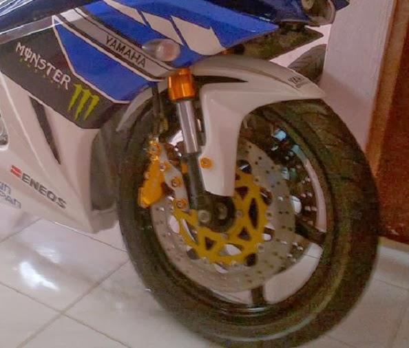 Modifikasi Yamaha Vixion Kekar