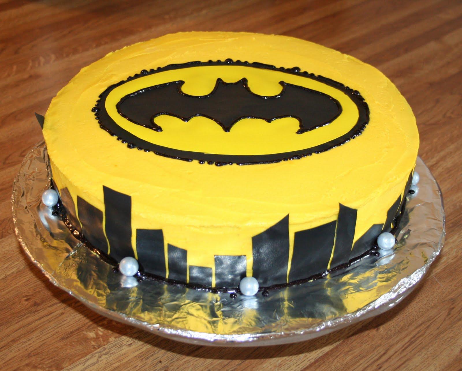 Batman Insignia For Birthday Cakes