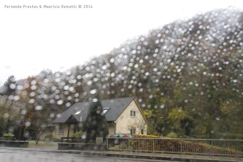 Chuva na Alemanha