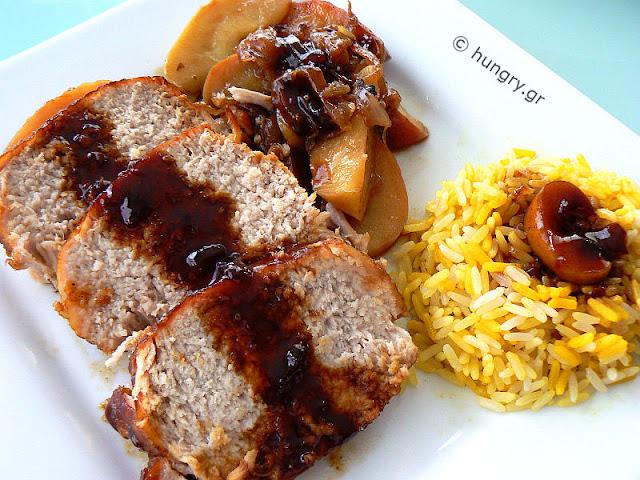 Roast Pork with Apples
