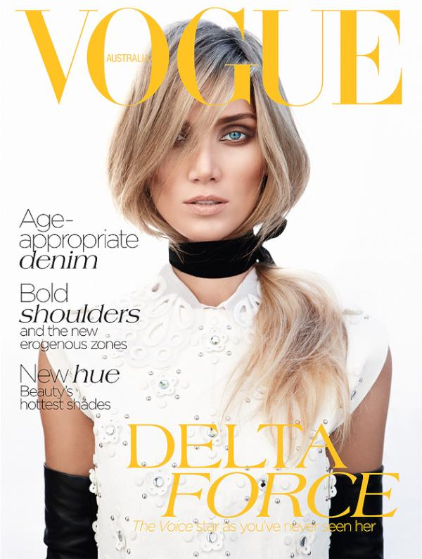 Vogue Australia July 2012 : Delta Goodrem by Nicole Bentley