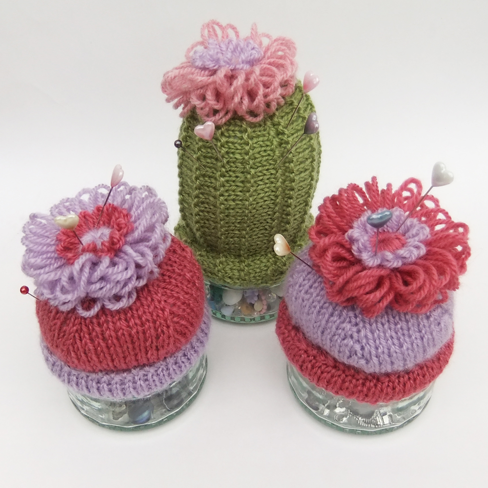 So much yarn, so little time.: Cactus pincushion knitting pattern ...