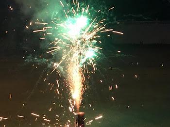 Fireworks on Pearl Street