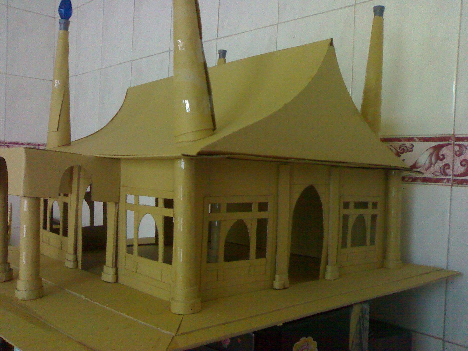 mini mosque eid al fitr