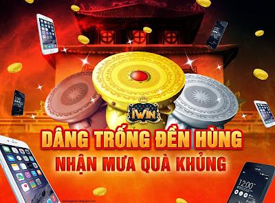 Sự kiện dâng trống đền Hùng iwin online