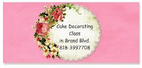 Cake deco Class