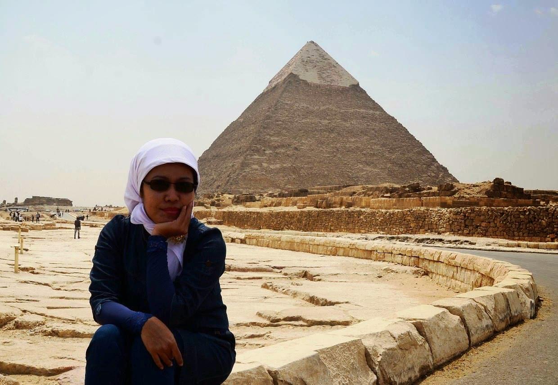 Rinny ERmiyanti di Cairo