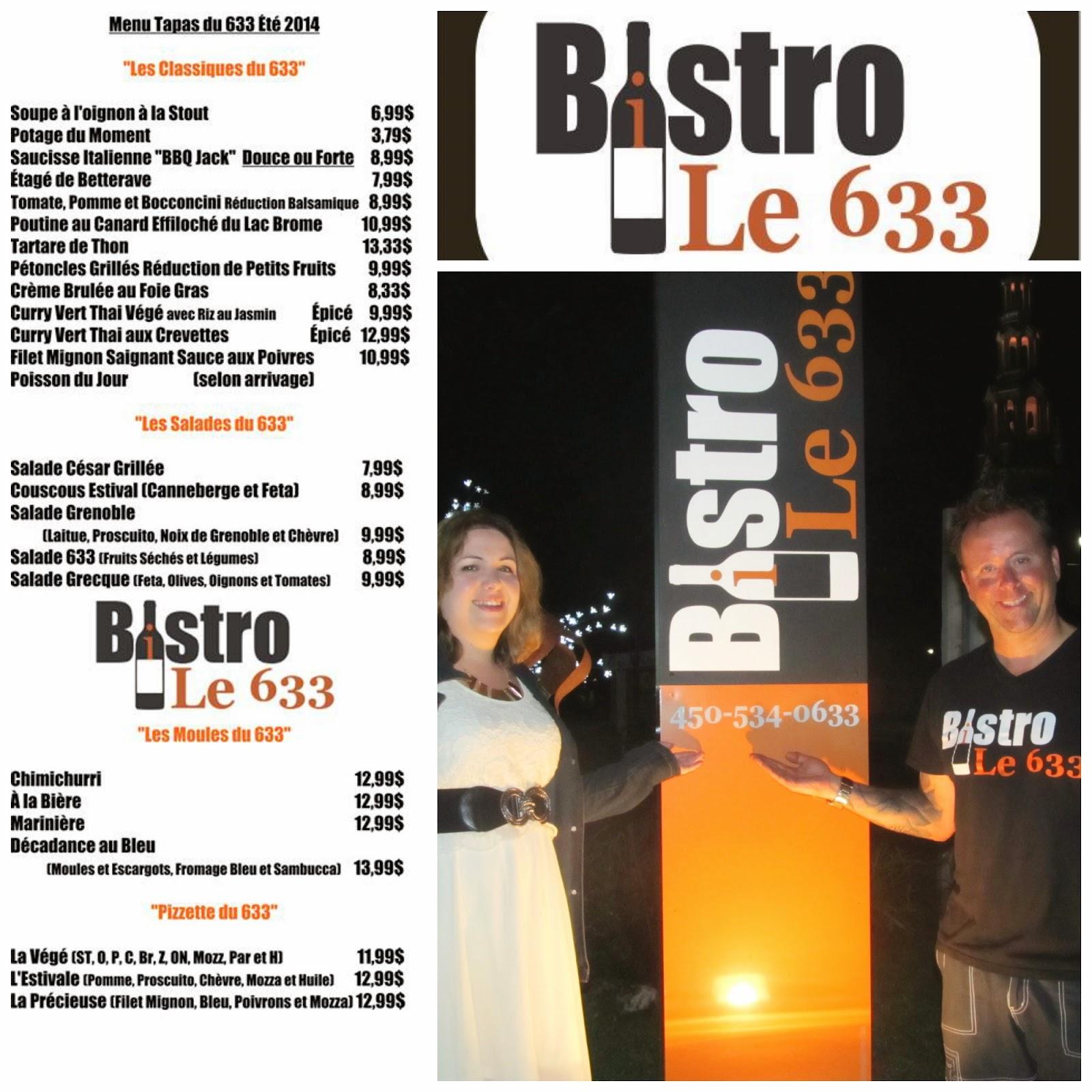 Bistro le 633, l'incontournable à #Bromont