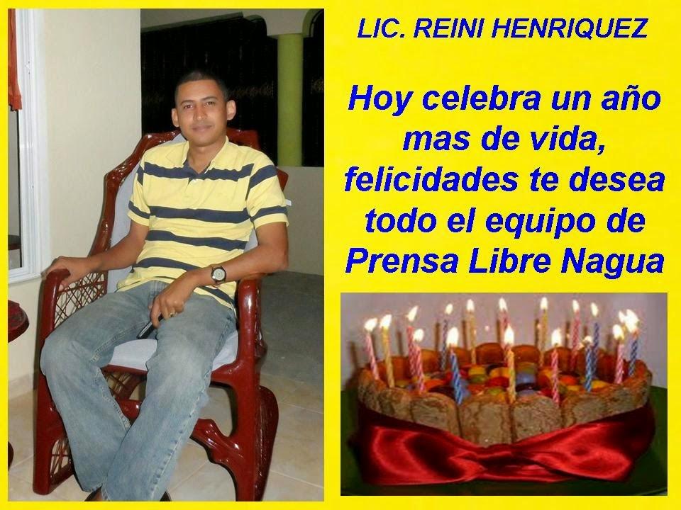 REINI HENRIQUEZ...FELICIDADES!