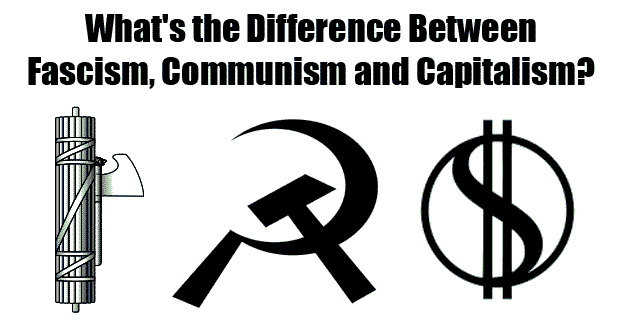"an introduction to the comparison of fascism and communism Communism, however, is ""the economic system under which a single authoritarian party controls the means of production  capitalism vs socialism:."