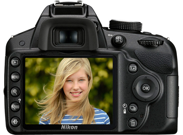 Nikon D3200 camera, DSLR Starter DX-format CMOS sensor resolution of 24.2 megapixels