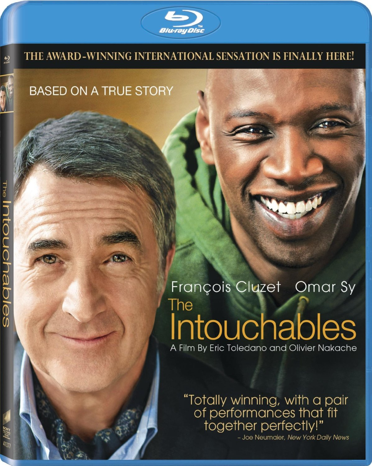 """the intouchables"" a film of true humanity Already a huge hit in europe, france's crowd-pleasing the intouchables seems destined to repeat its success here written and directed by eric toledano and olivier nakache, it's the factual story of an unconventional relationship between a millionaire quadriplegic from the ritziest neighborh."
