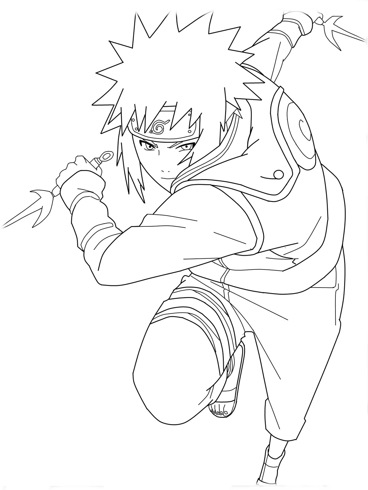 naruto coloring book pages - photo#22