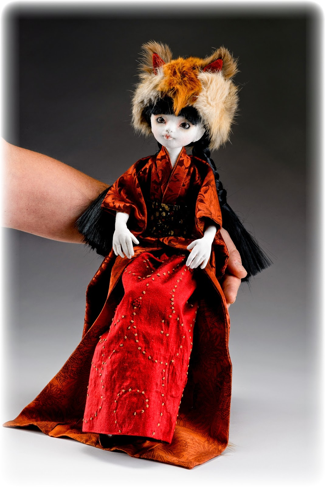 from these hands     kitsune