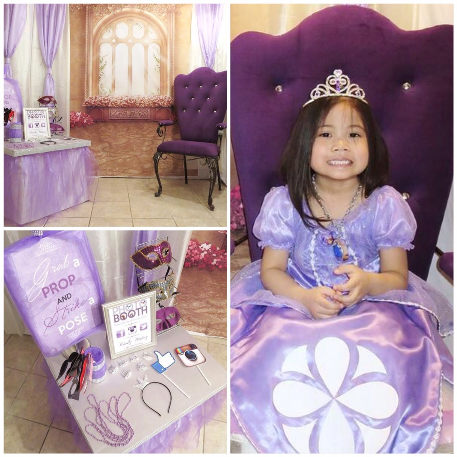 aubzielation: Nyomi\'s Princess Sofia The First Inspired 4th Birthday ...