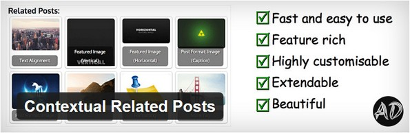 Contextual Related Posts plugin for related content on posts
