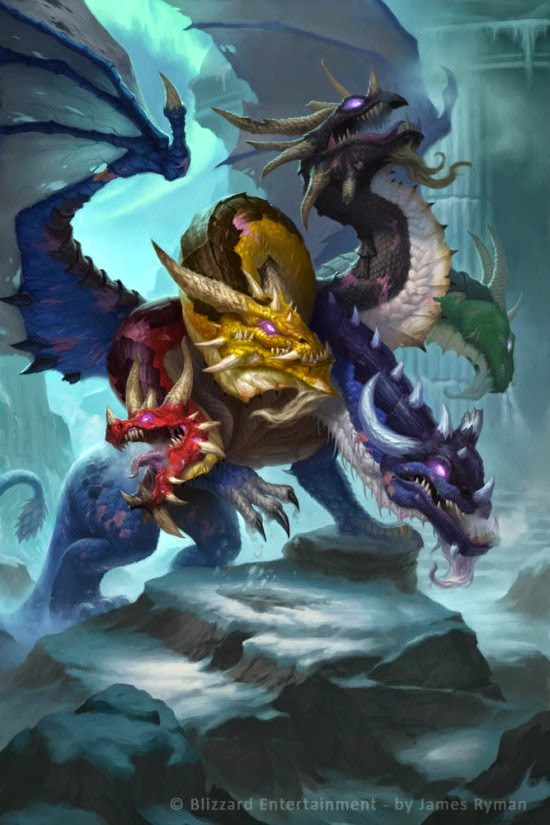 James Ryman deviantart ilustrações fantasia ficção científica card games legend cryptids magic gathering galaxy saga world warcraft