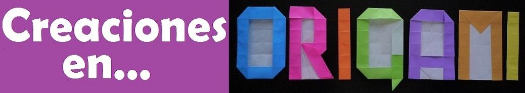 Creaciones en Origami