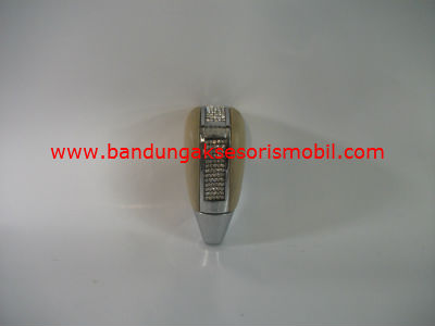 Gear Knob Kulit Cream + Berlian
