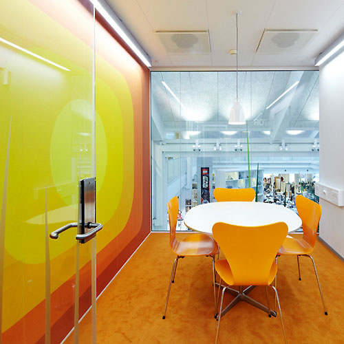 Fresh Meeting Room Office Interior Design