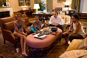 The Obama family watching the World Cup women's soccer game. Go Team USA!
