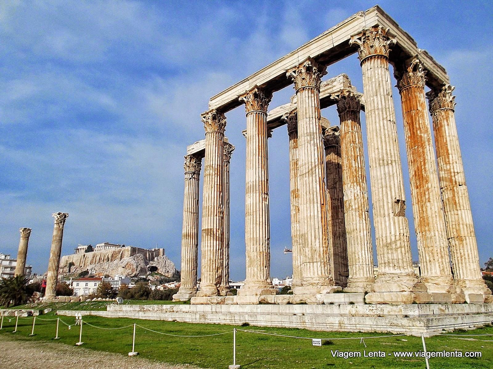 Viagem à cidade de Atenas, na Grécia