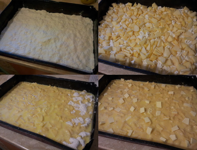torta-ricotta-e-mele-preparazione