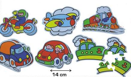 vias de transporte: