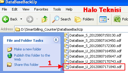 Database Smart Billing