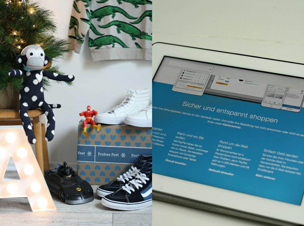 PayPal, Bezahlsystem, sicher online bezahlen, schnell, einfach, online shopping, Weihnachtseinkäufe