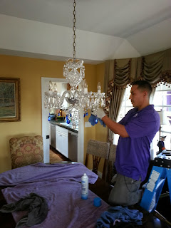 Chandelier Cleaning in Corona Del Mar