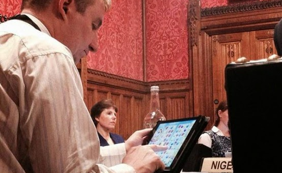 British MP caught in Candy Crush offense during a session of Parliament