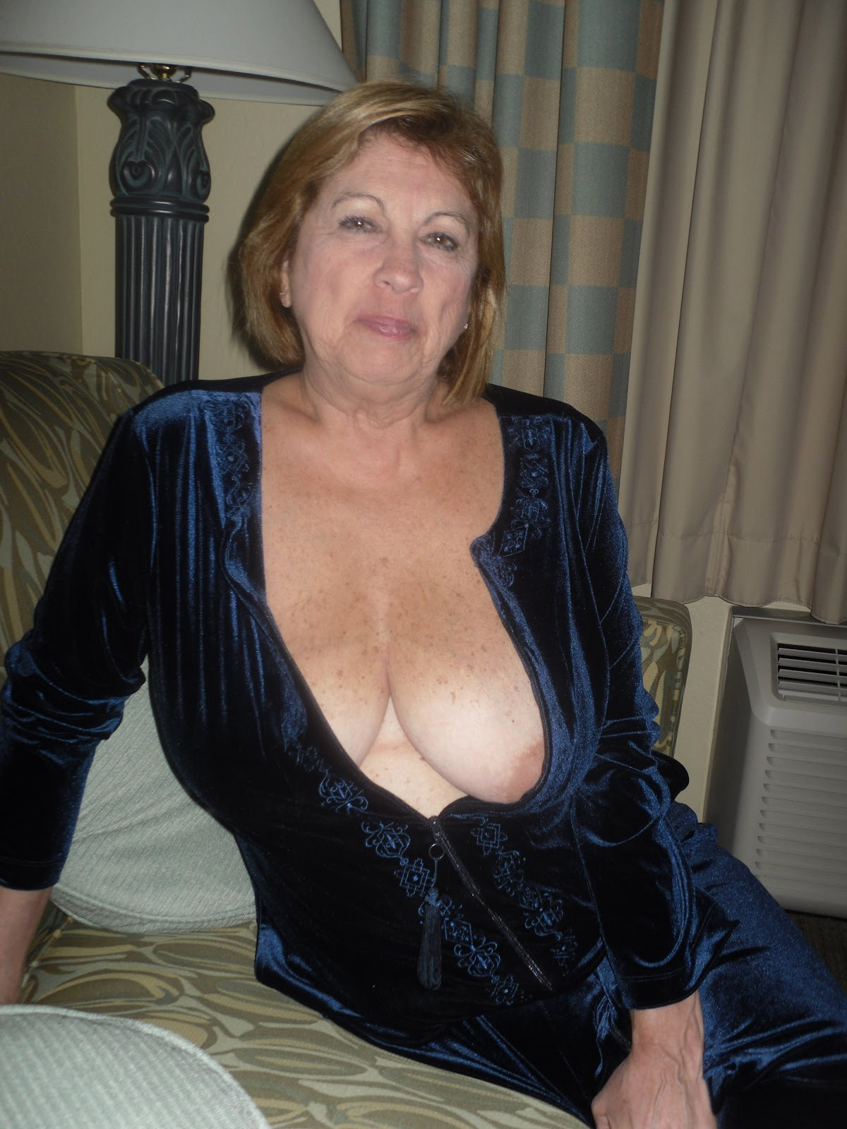 Mature and granny tits