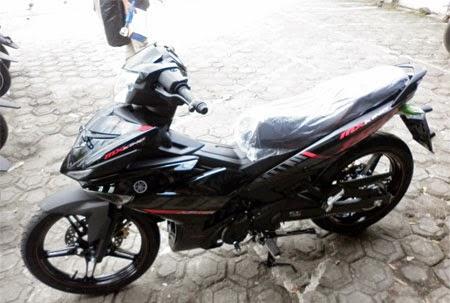 Yamaha Jupiter MX King 150 warna Hitam