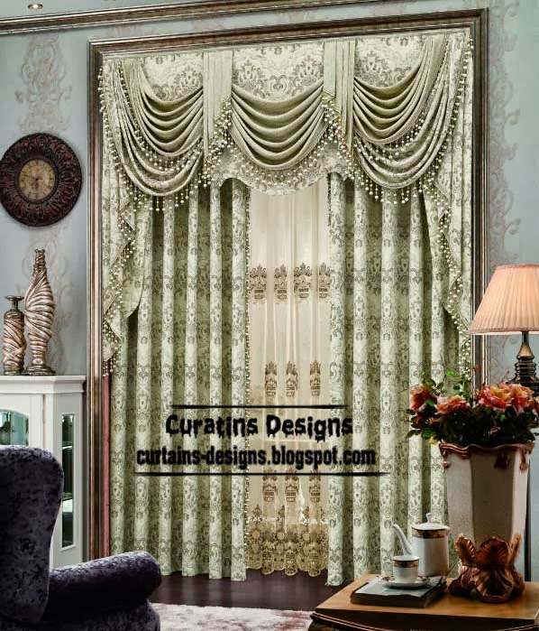 10 Top Luxury Drapes Curtain Designs,Unique Drapery Styles