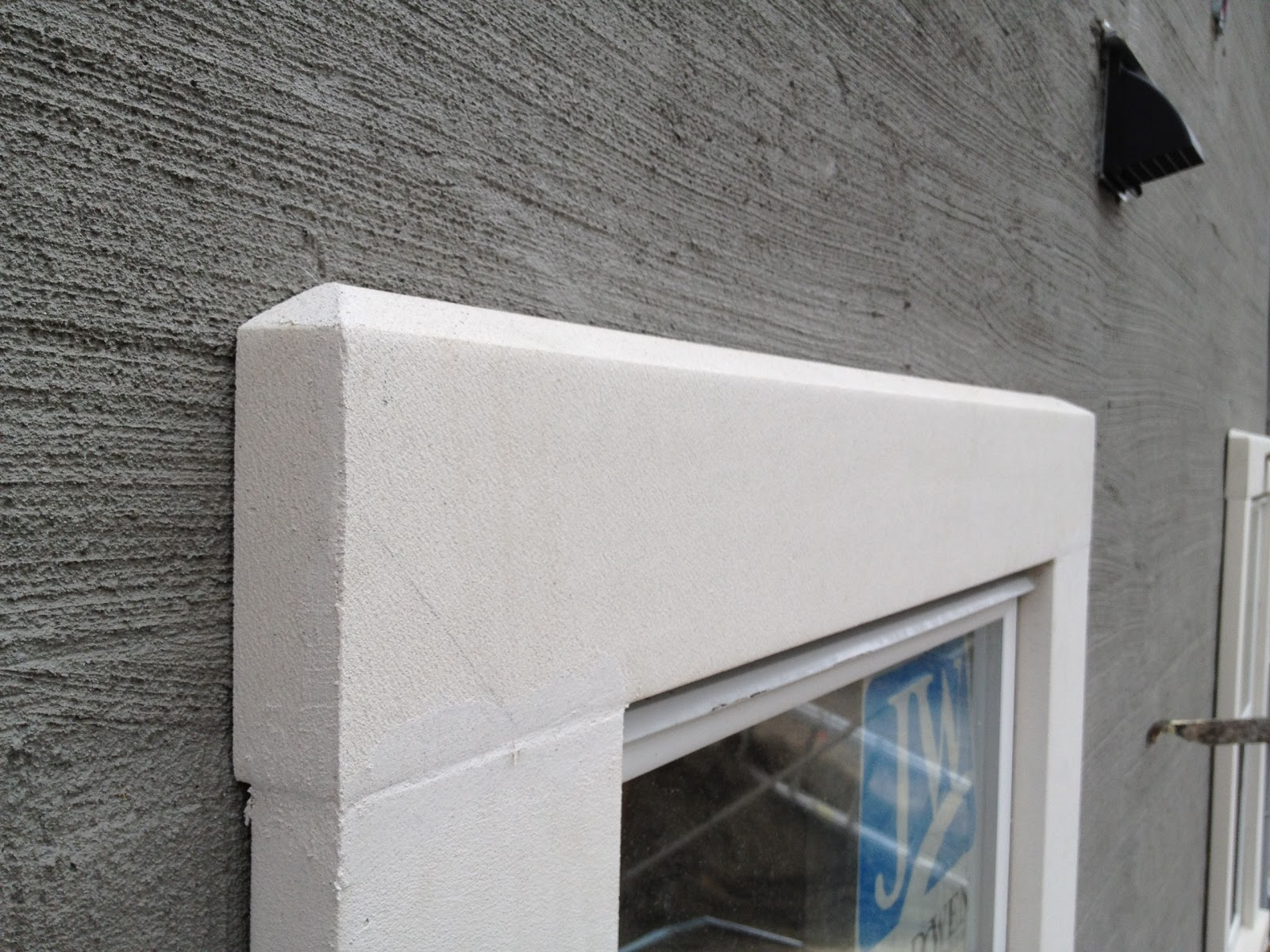Exterior Stucco Trim ronse massey developments: laneway house update