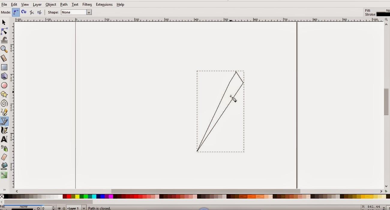 Cara Membuat Desain Logo Menggunakan Inkscape - Desain Zain