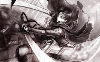 levi titan attack on titan shingeki no kyojin hd wallpaper 1440x900
