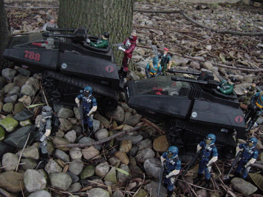 1989 Track Viper, Hiss Tank, Hiss II, 1983, Aero Viper, 1998 Cobra Trooper, Cobra Officer