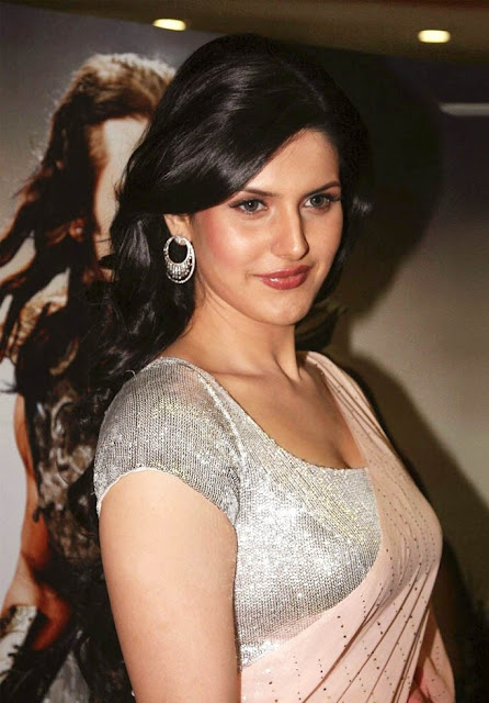 zarine khan boobs size