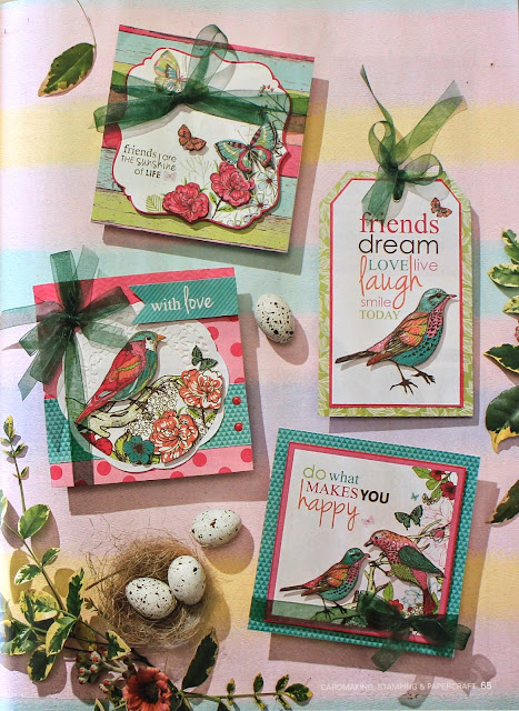 "Publication - Kaisercraft ""Fly Free"" Set of Cards by Alicia McNamara"