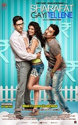Watch Sharafat Gayi Tel Lene (2015) DVDRip Hindi Full Movie Watch Online Free Download