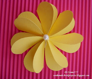 Cards crafts kids projects paper flower tutorials 14 types of flat folding 3 d flower tutorial mightylinksfo Image collections