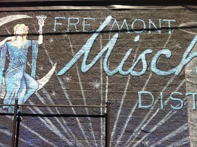 Fremont Distillery Mural