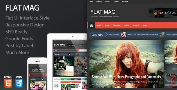 Flat Mag v1.2 – Themeforest