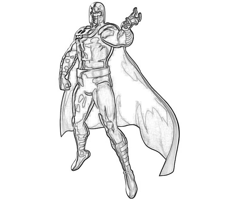 marvel-vs-capcom-magneto-coloring-pages