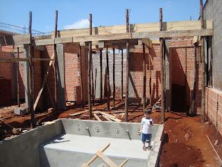 Construindo Nosso Lar Cisterna E Piscina